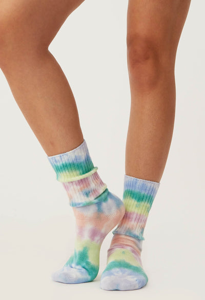 Daydreamer Prismatic Tie Dye Socks