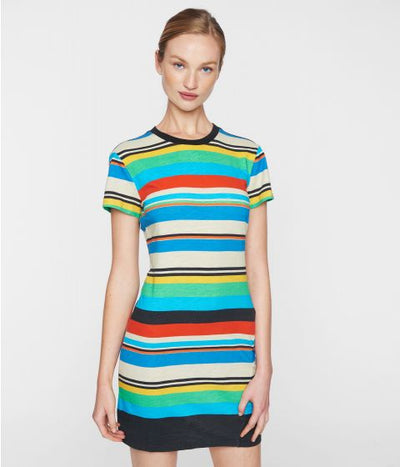 Pam & Gela Striped Tee Shirt Dress