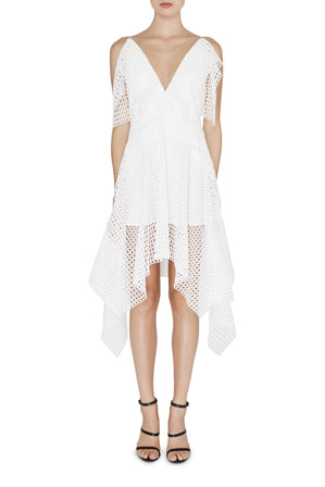 Acler Carroway Dress in White