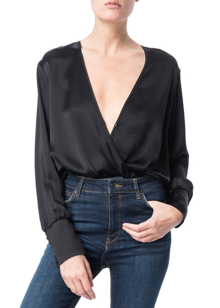 Cami NYC Allison Bodysuit in Black