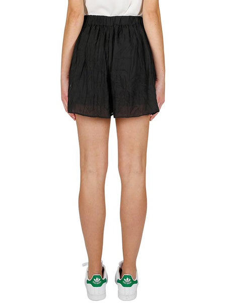 Luxe Deluxe Bright Lights Butterfly Short in Black