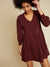 Nation Brinley Dress in Mahogany