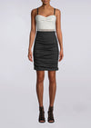 Nicole Miller Sweetheart Black and White Dress