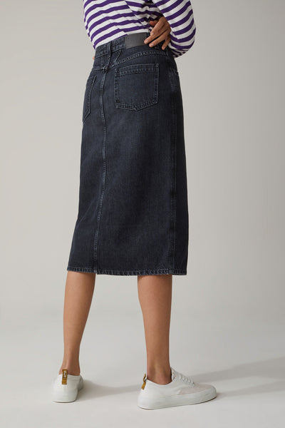 Closed Black Denim Pencil Skirt