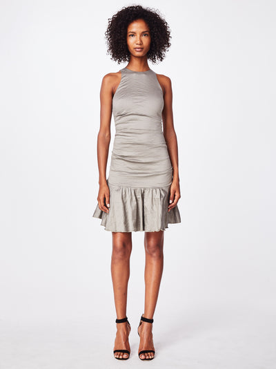 Nicole Miller Ruffle Hem Dress
