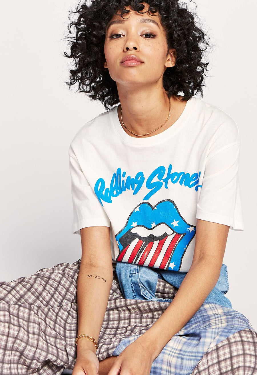 Daydreamer Rolling Stones Stars and Stripes Tee