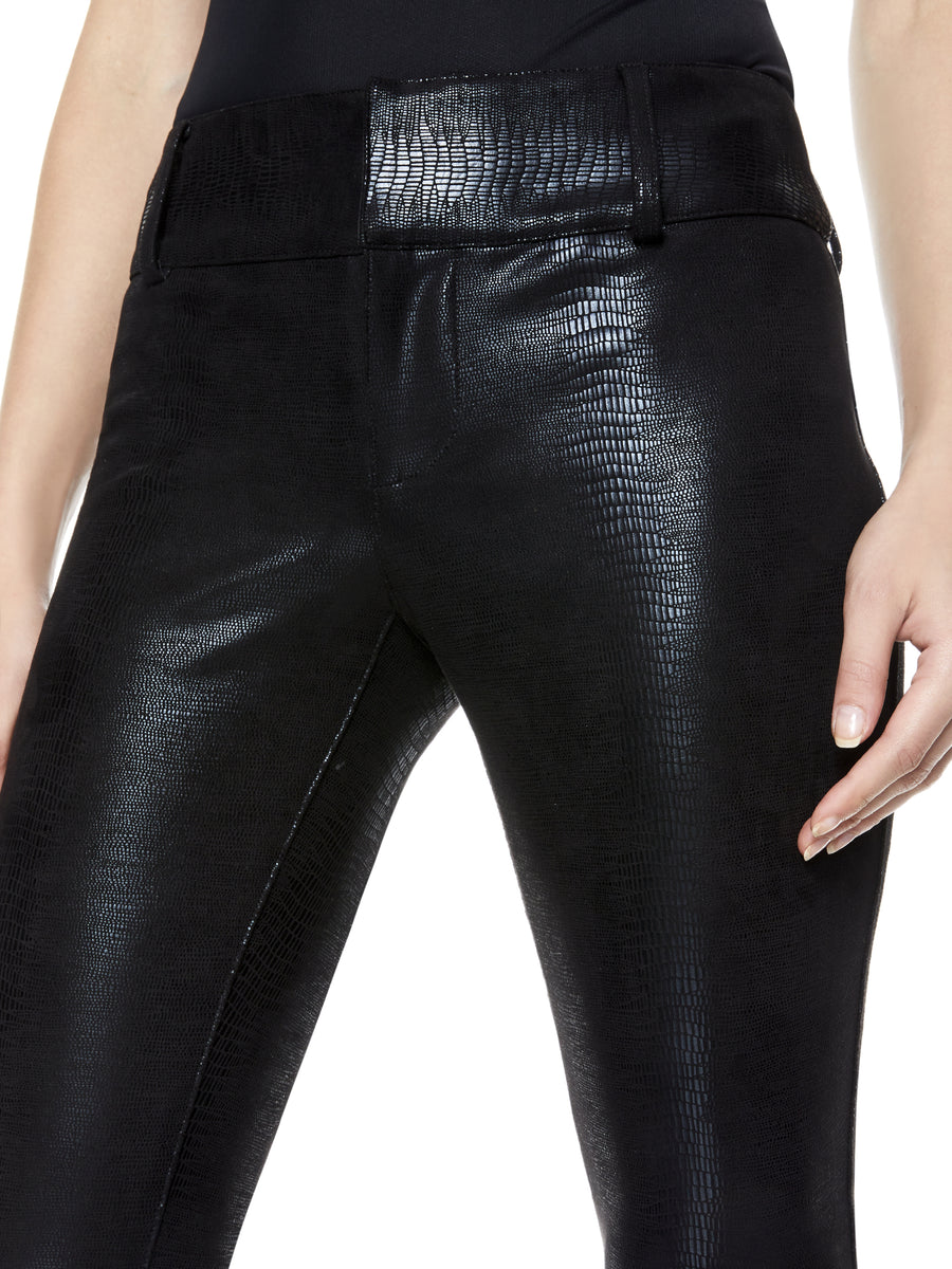 Alice and Olivia Stacey Vegan Leather Pants