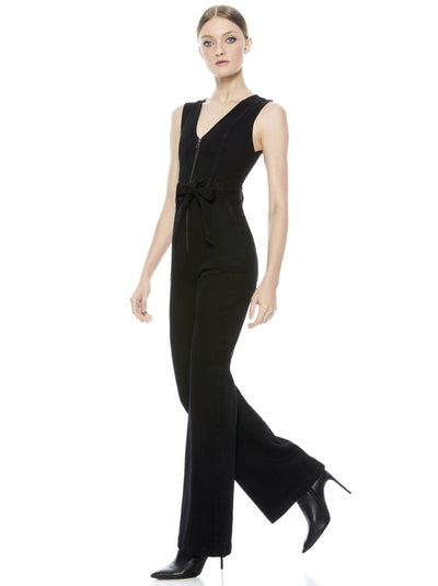 Alice and Olivia Gorgeous Jumpsuit in Black