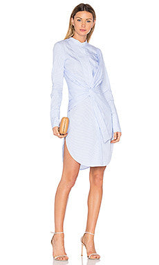 Acler Rowe Stripe Shirt Dress