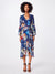 Nicole Miller Bell Sleeve Wrap Dress