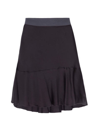 Nation Claire Bias Skirt in Shadow