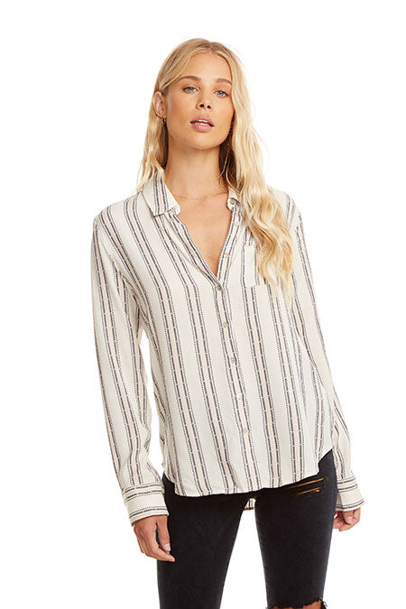 Chaser Classic Long Sleeve Button Down