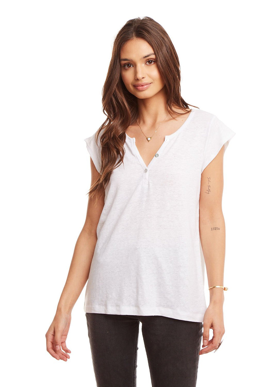 Chaser Baby Henley Top