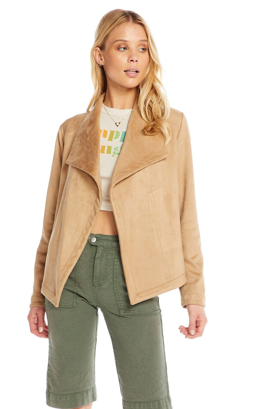 Chaser Faux Suede Jacket