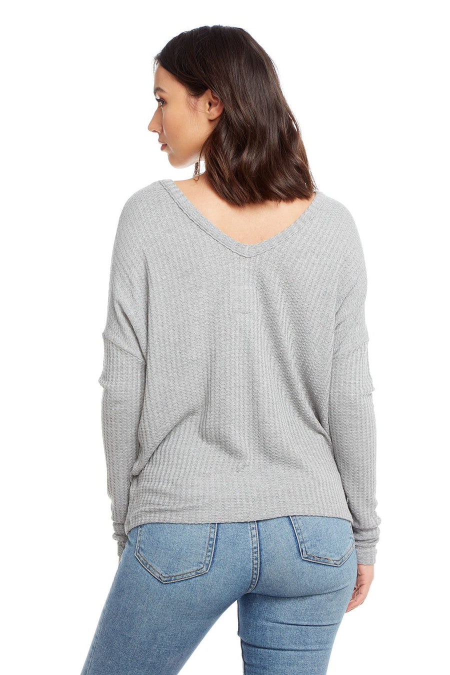 Chaser Long Sleeve Double V Top