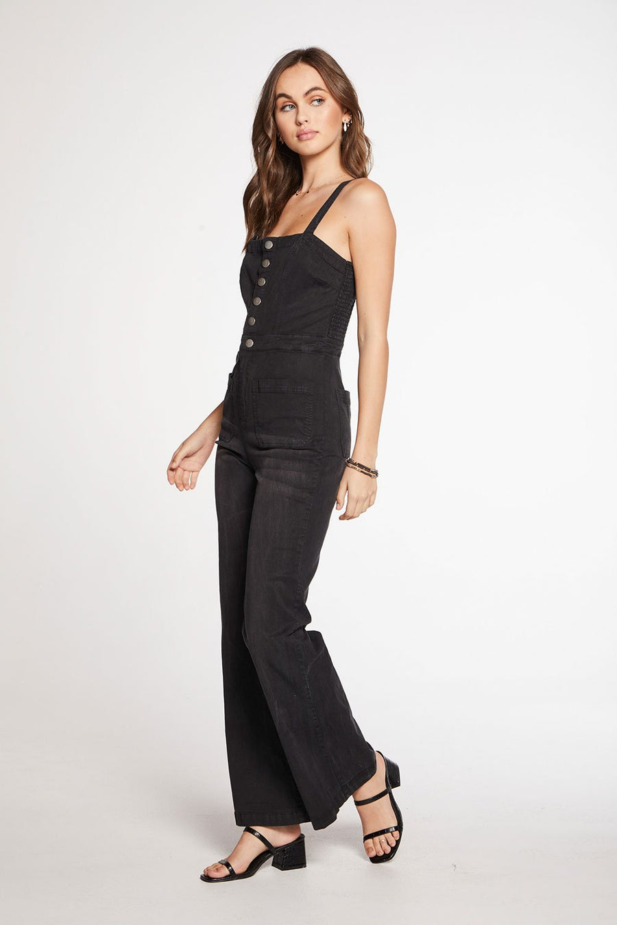 Chaser Square Neck Jumpsuit