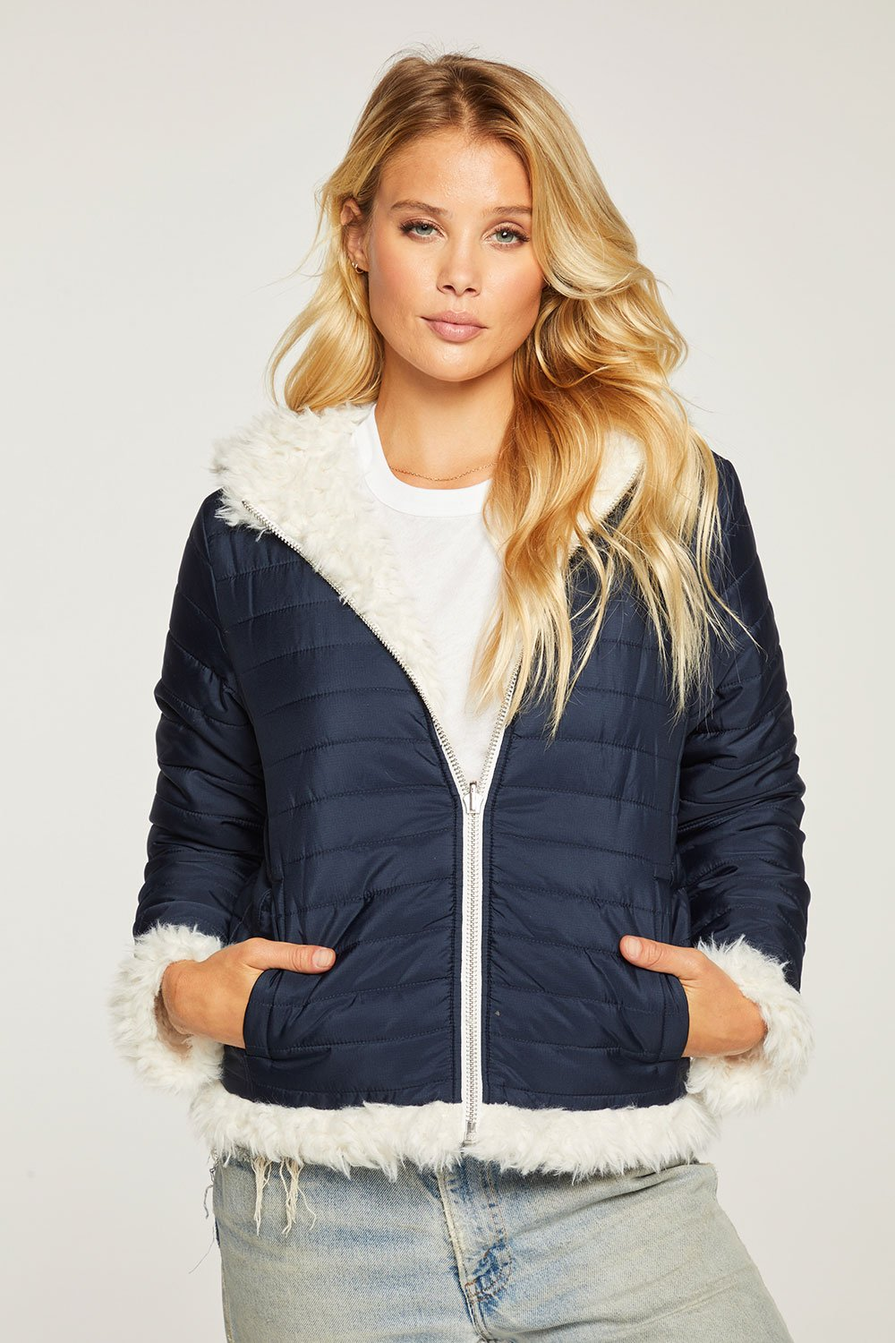 Chaser Reversible Quilted Puffer Jacket