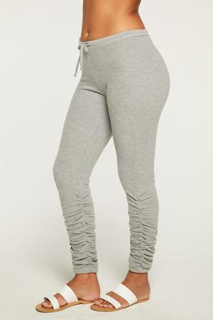 Chaser Bliss Knit Shirred Jogger