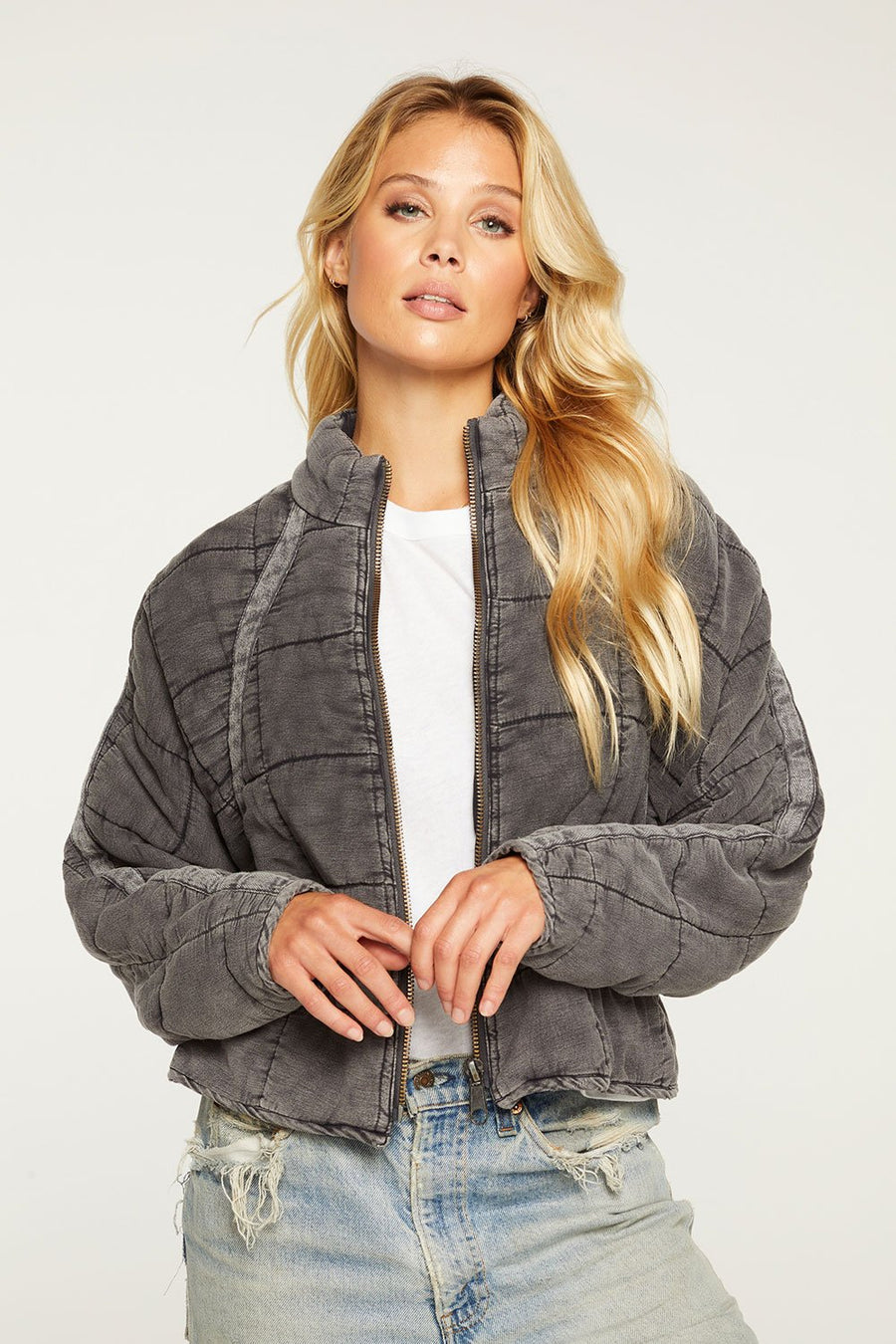 Chaser Quilted Heirloom Batwing Jacket
