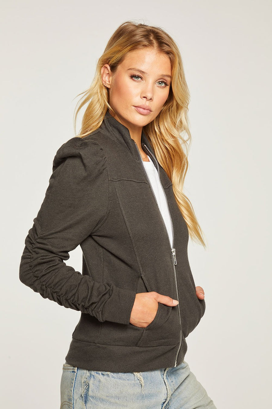 Chaser Linen French Terry Jacket
