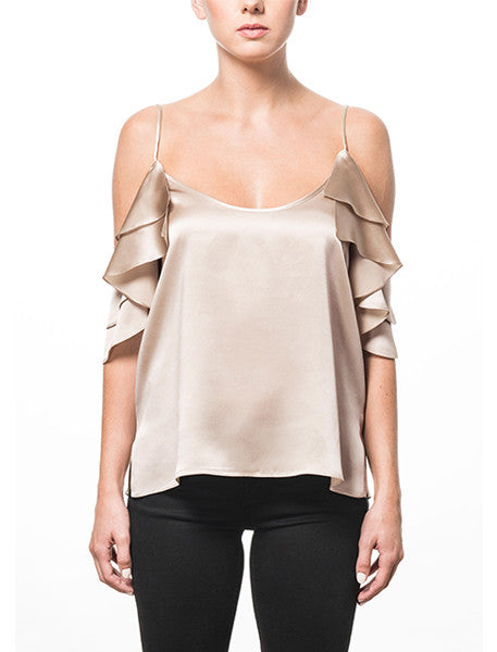 Cami NYC Samantha Top - Champagne