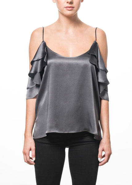 Cami NYC Samantha Top - Grey