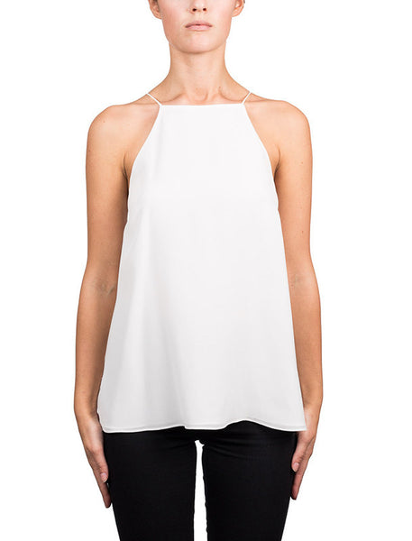 Cami NYC Charlie Tank in White