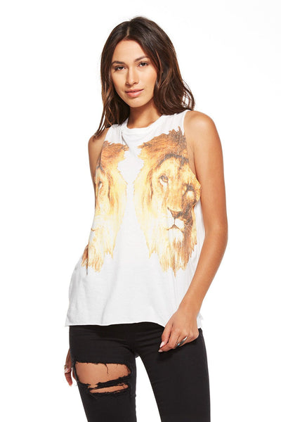 Chaser Reflected Lions Vintage Jersey Tank