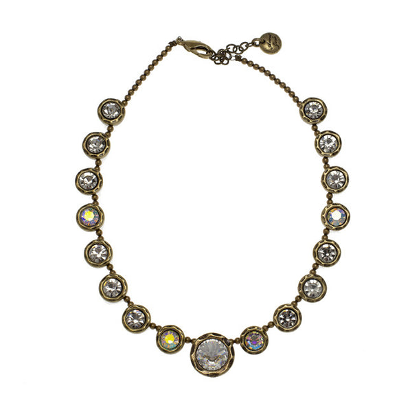 Avantgarde Cherie Necklace - Brass