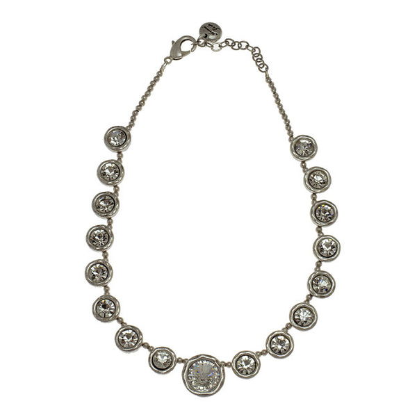 Avantgarde Cherie Necklace - Silver Plated