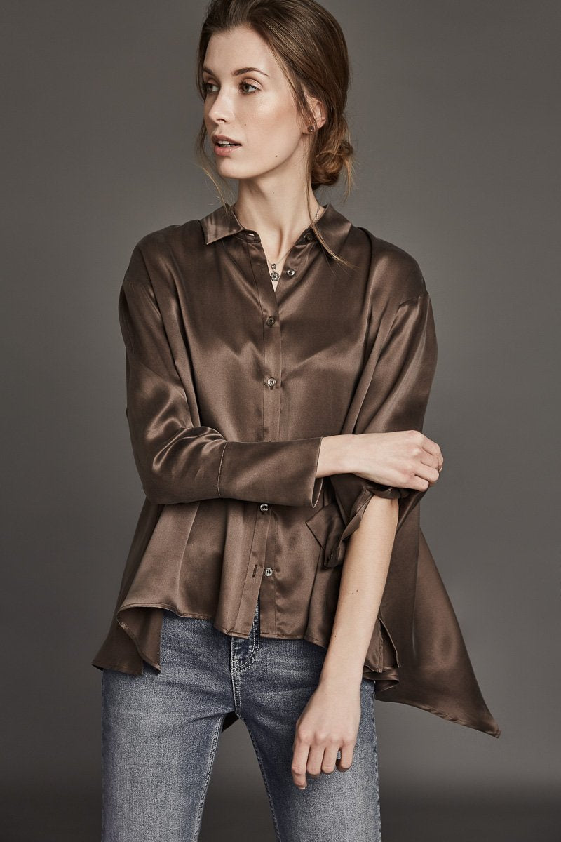 Harshman Cressida Silk Shirt