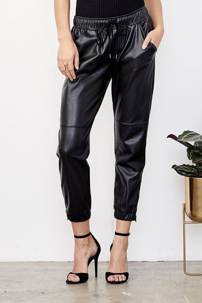 David Lerner Ankle Zip Jogger