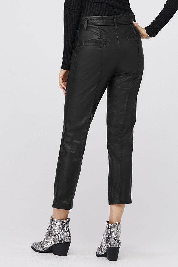 David Lerner Alessa Leather Trousers