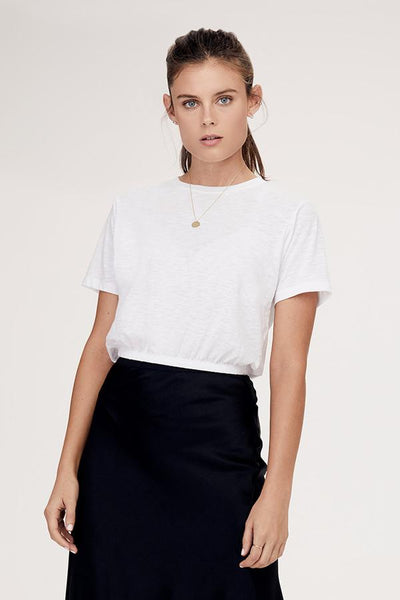 David Lerner Ashley Tee in White