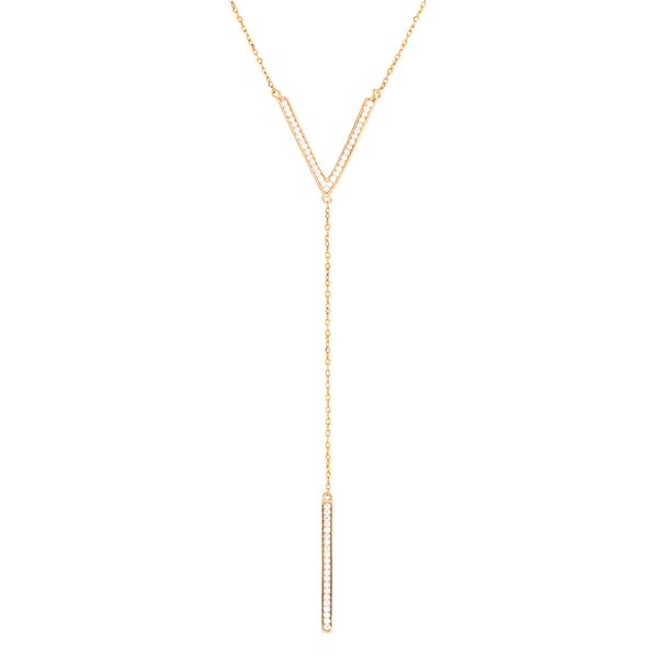 Jen Hansen Drop Y Necklace - Estilo Boutique