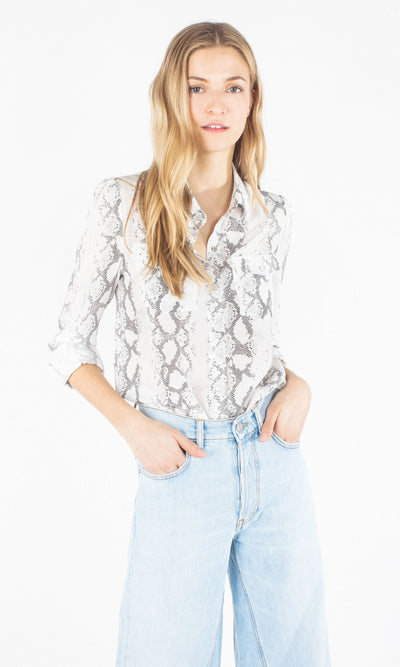 Generation Love Snake Button Up Top