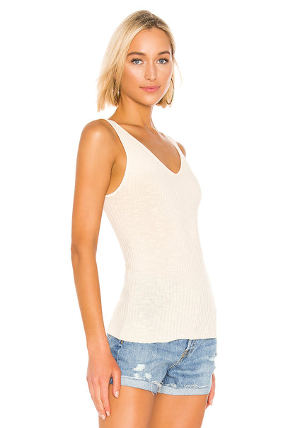 Enza Costa Military Ribbed Tank