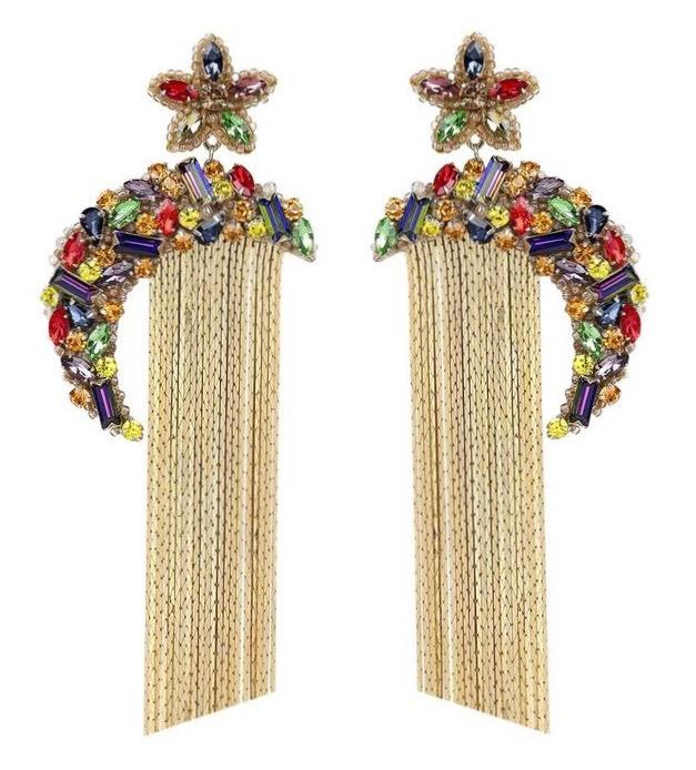 Deepa Gurnani Ginnie Earrings