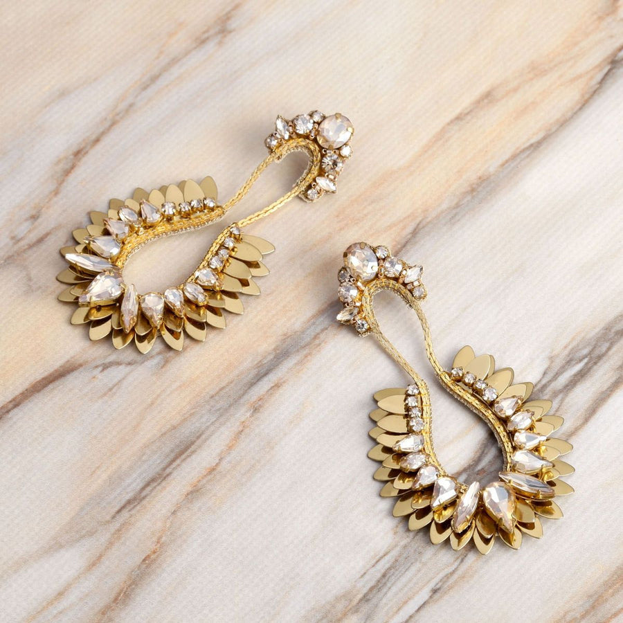 Deepa Gurnani Nior Earrings