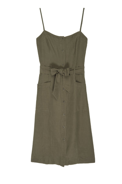 Rails Evie Dress in Deep Olive