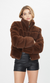Generation Love Jodi Coat in Brown