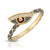 Joy Dravecky Enamel Evil Eye Stacking Ring
