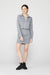 Monrow Shirt Dress in Granite