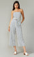 Greylin Michie Striped Jumpsuit