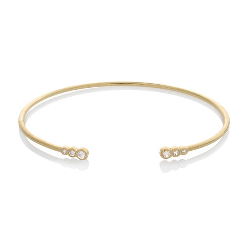Jen Hansen Happy Bracelet in Gold