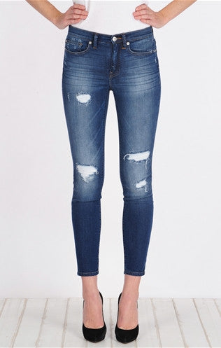 Henry & Belle High Waisted Skinny Ankle - Armitage - Estilo Boutique