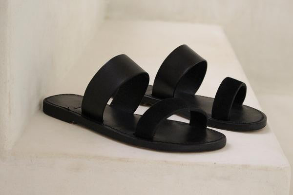 "byJAMES ""James"" Sandal In Black"