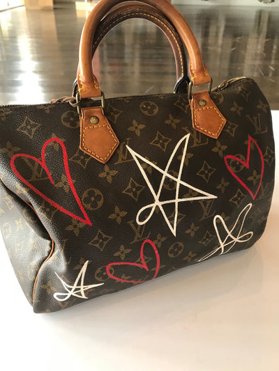 New Vintage Louis Vuitton Heart and Stars Bag