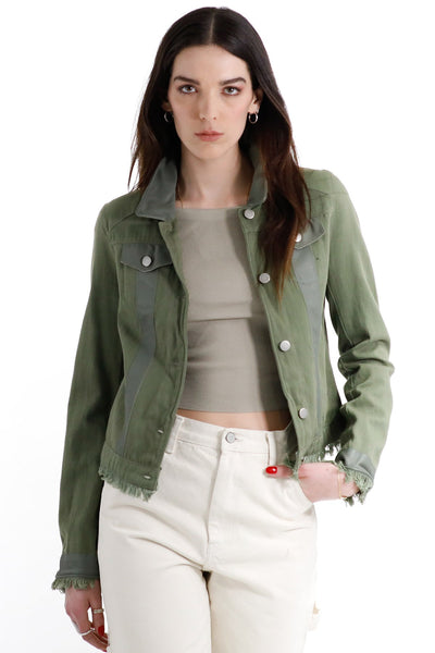 Jakett Alexa Cotton Army Jacket