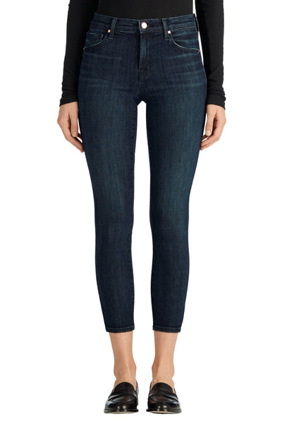 J Brand 835 Mid Rise Capri in Dark Innovation - Estilo Boutique